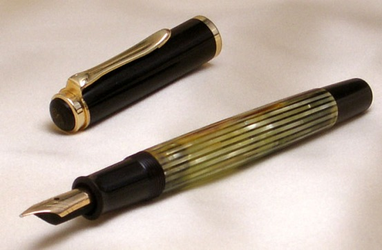 Vintage_Pelikan_400_Tortoise_Striped_Fountain_Pen_4