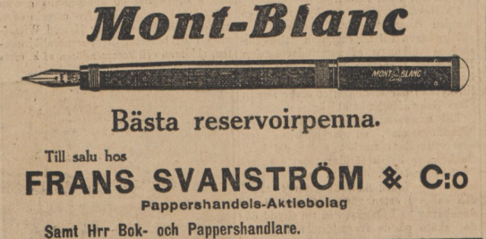 1913 Montblanc