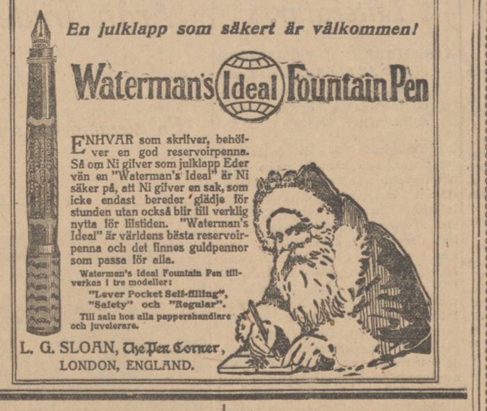 1916 Waterman