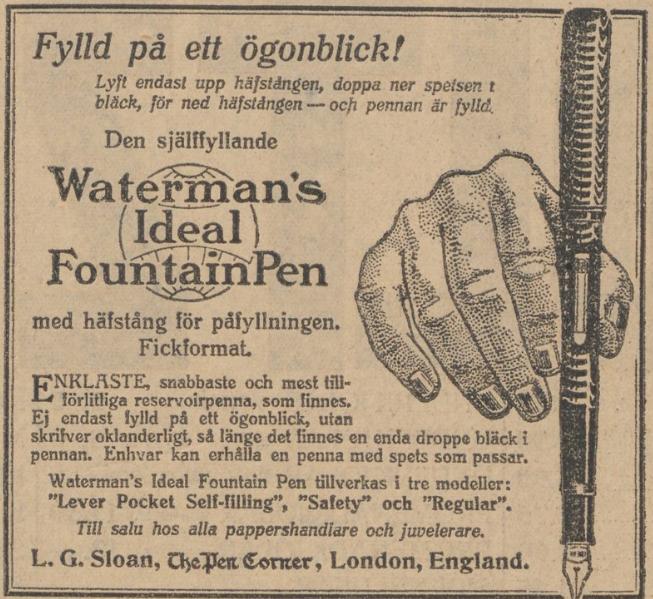 1917 Waterman