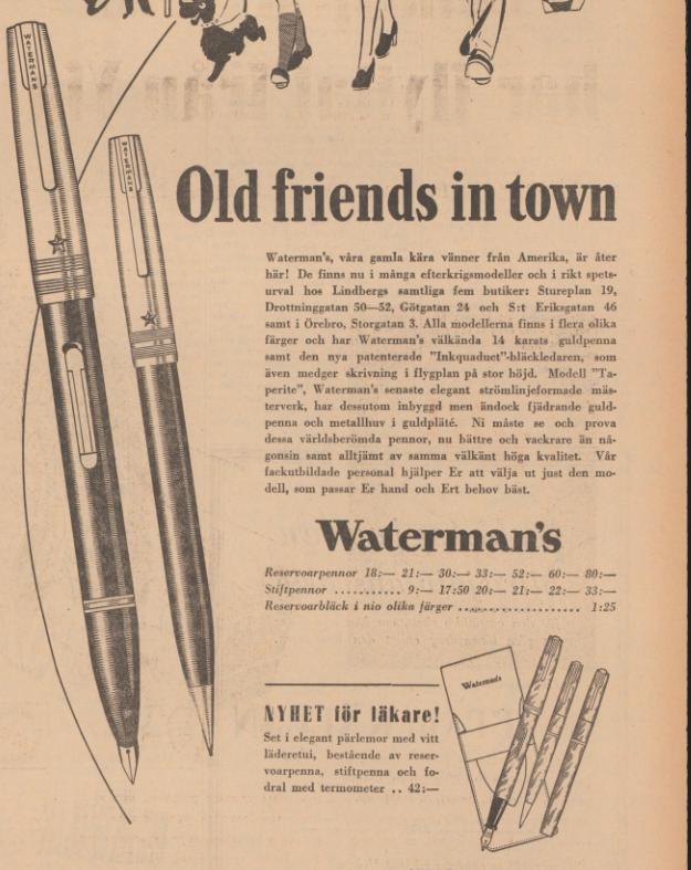 1946 Waterman