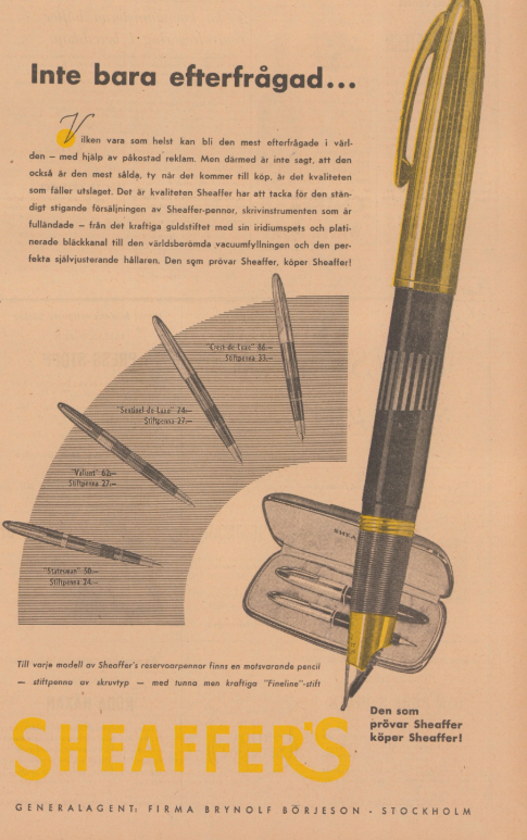 1947 Sheaffer