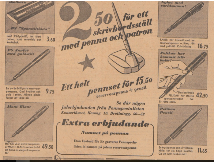 1951 varia