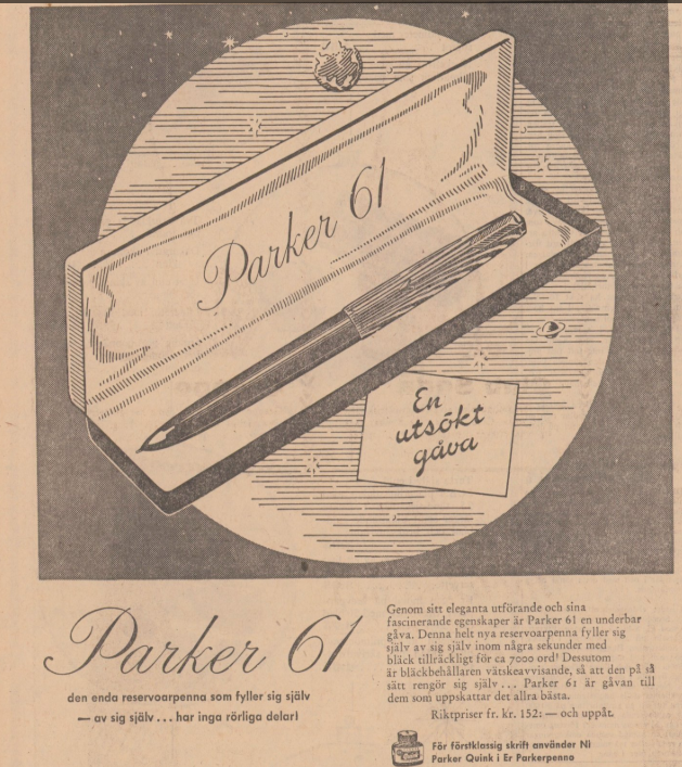 1957 Parker 61